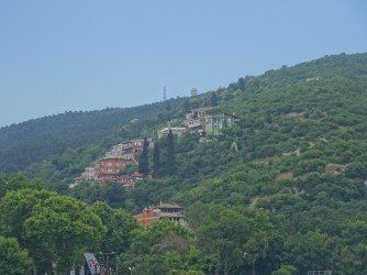 Hillside Houses Along the Way