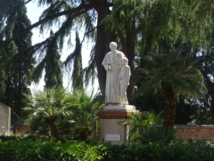 Statue Near the Catacombs