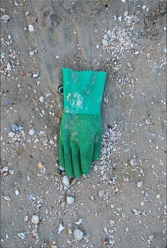 Rubber glove by Rupert Ganzer
