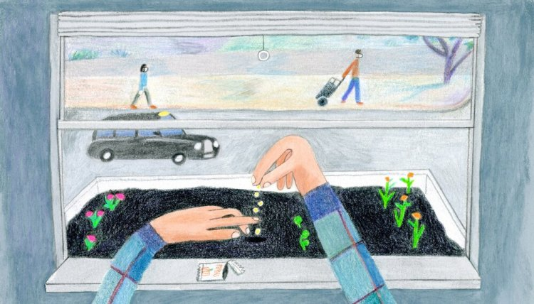 The Tonic Of Gardening In The Coronavirus Quarantine - The New Yorker April 7, 2020