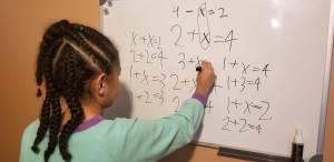 Basic Algebra at age 7