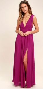 magenta-maxi-gown-engagement-photos-dress-cute-suessmoments-nyc-photographer