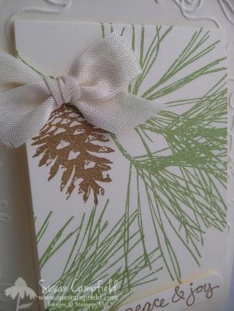 Ornamental Pines with Party Pennants Die 7-imp
