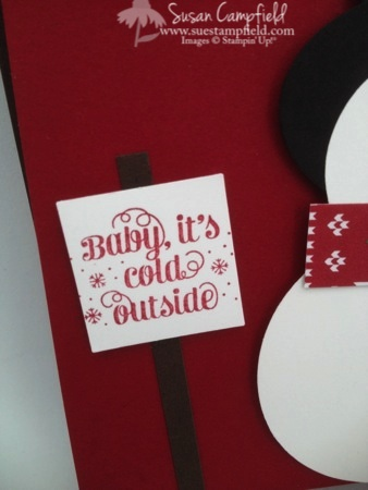 Punch Art Snowman Bottle Tag and Card6-imp