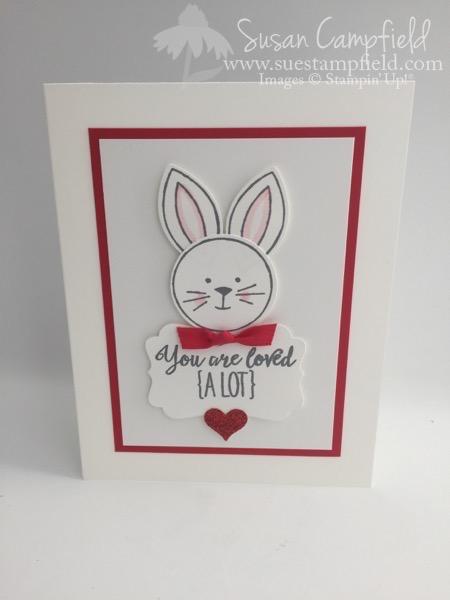 Friends & Flowers Bunny Valentine - 1