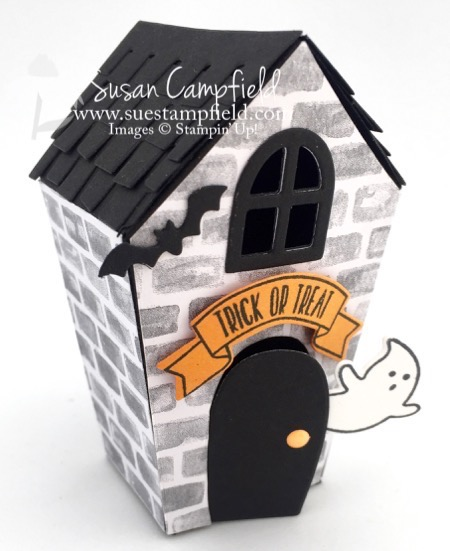 Haunted House with Home Sweet Home Thinlits Dies - 1