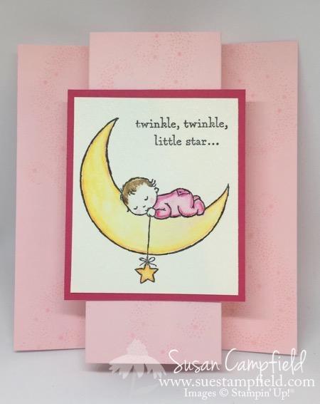 Moon Baby Girl Pink - 1