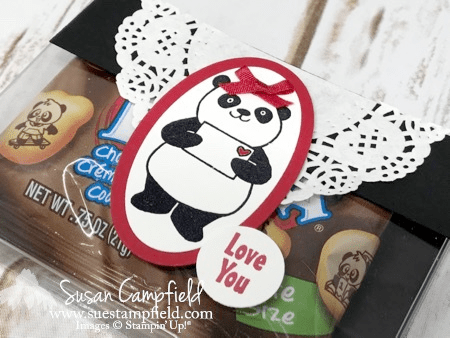 Party Pandas Purse with Acetate Card Box Stampin' Up!  - 4