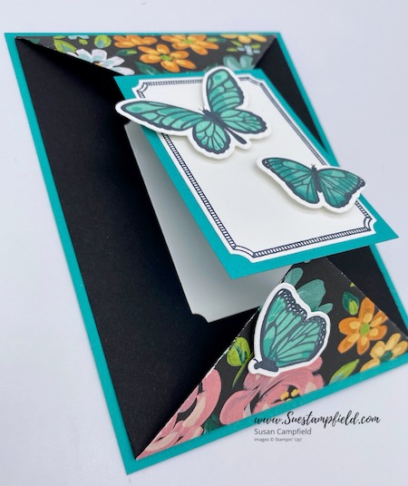 Floating & Fluttering Double Point Card - 6