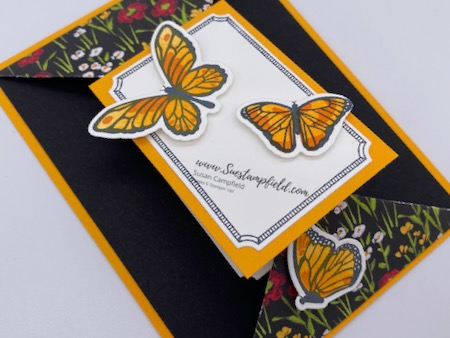 Floating & Fluttering Double Point Card - 2