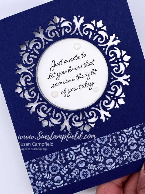 Encircled In Friendship Circle Panel Pull Out Cards - 10