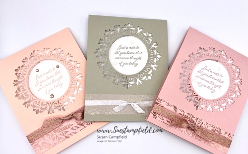 Top Fold Encircled In Beauty Card Set - 1