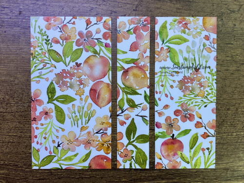 You're A Peach 3-Panel Scenery Z Fold Card - 2