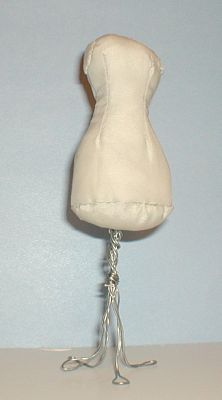 Miniature Pedestal Dress Form