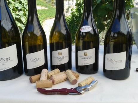 A selection of Jean-René Germanier's wines