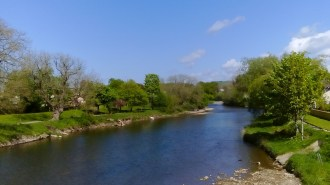 River Derwent from the footbridge