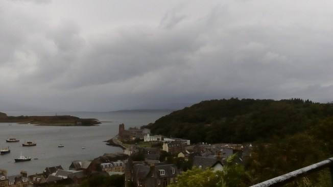 A view from McCaig's Tower