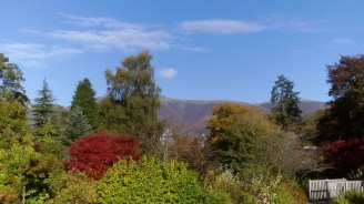 Autumn colours and a distant fell