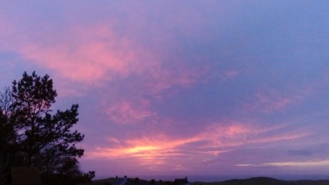 Sunset 10 December