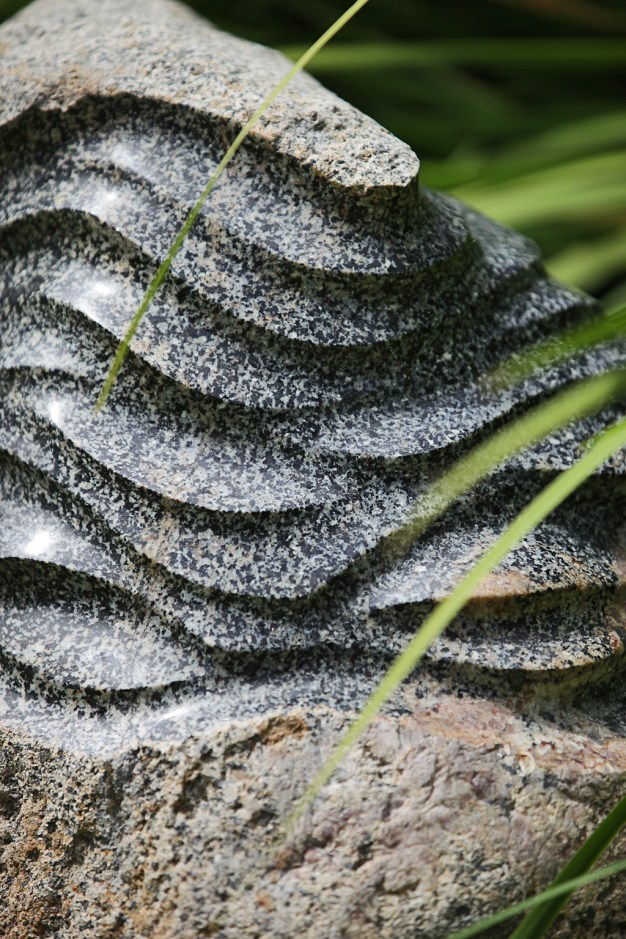 Stone Wave, granite boulder, $1700