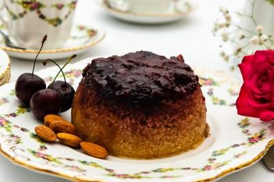 Cherry & Almond Pudding
