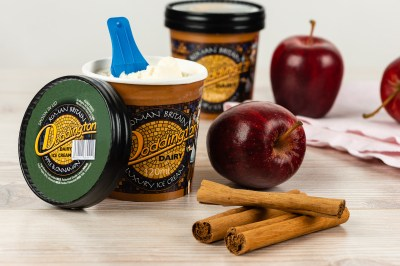 Apple and Cinnamon Ice cream