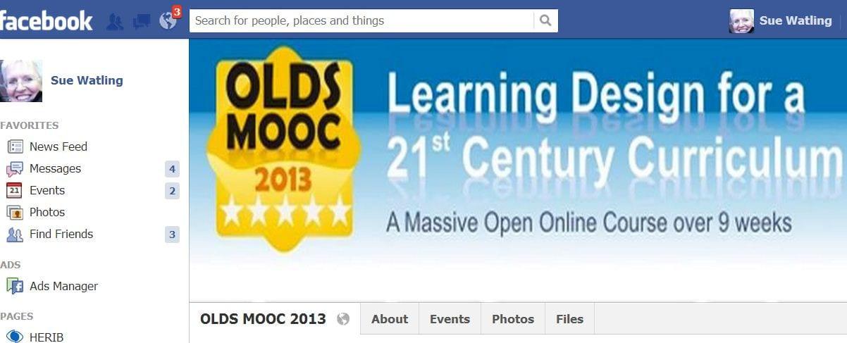 Facebook and OLDsMOOC