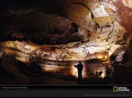 prehistoric cave paintings at Lascaux