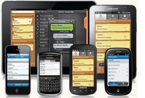 The future is Blackboard on a assortment of mobile devices