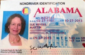 Alabama ID card