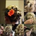 Amazing Grace Designs wedding hair