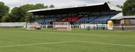 Sutton United FC 3G Pitch Stand