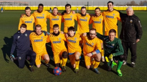 Sutton United Disability Cup Team Shot