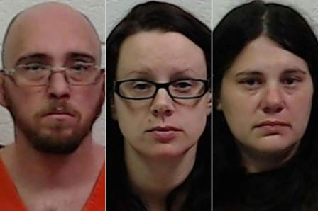 Marty Browning, Julie Titchenell, Sherie Titchenell mug shots
