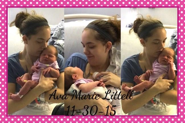 Abigail Neiger-Bickham and daughter Ava Littell
