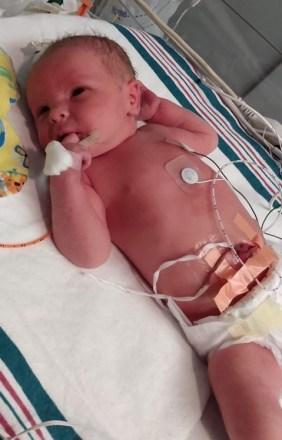 Brock Kimsey as a newborn