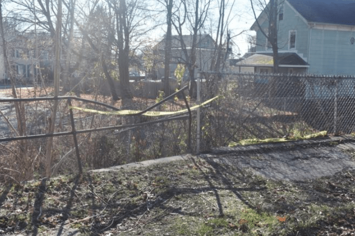 Port Jervis vacant lot where body of newborn Sophia Grace Hadden was discovered
