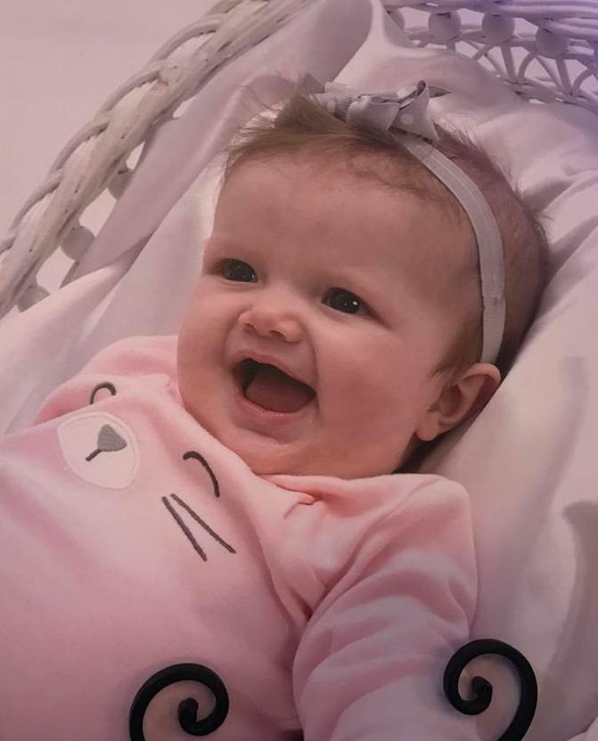 Baby Anastasia Anna Wynter McAlister