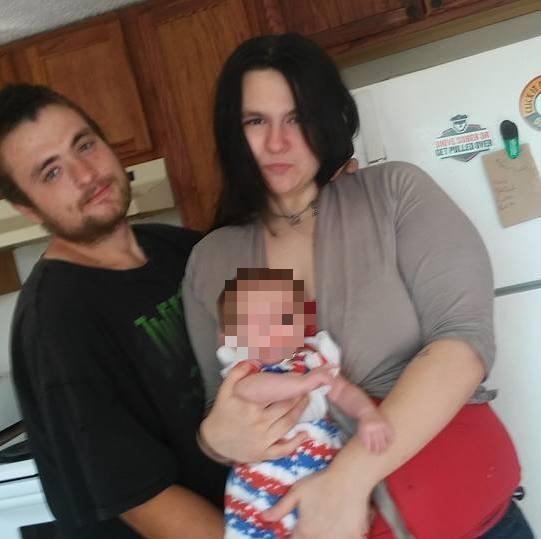 """Clifford Alan """"CJ"""" Stark Jr. and Tina Dayton of Columbus, Ohio with daughtert"""
