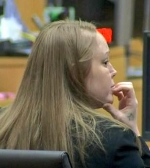 Sammantha Allen in court