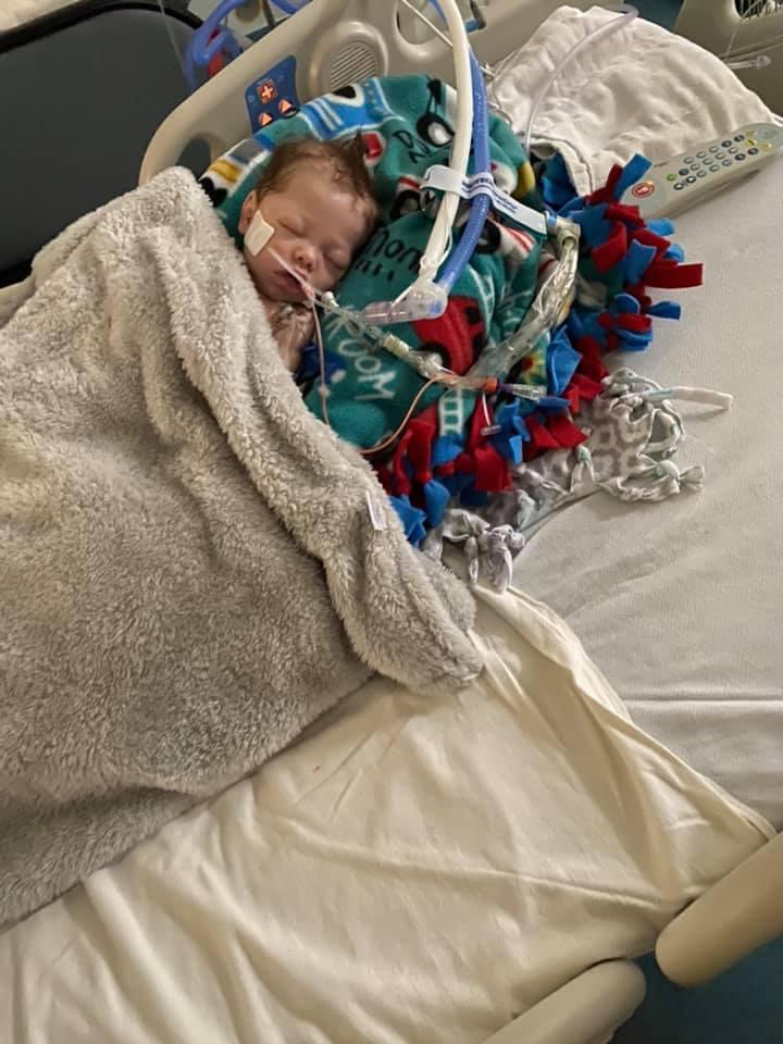 Dawson Jace McKinney in hospital