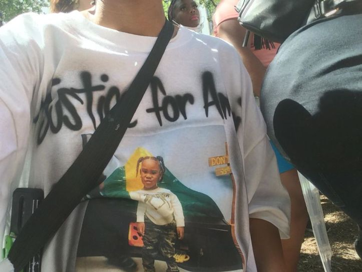 Justice for Amari Boone t-shirt