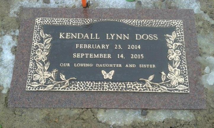 Kendall Lynn Doss's headstone