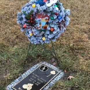 Ky'mani Zahfir Sosa Moore's grave