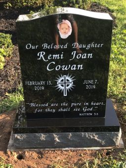 Remi Joan Cowan's headstone