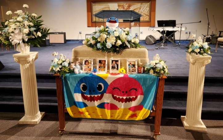 Zyaire Reed Baby Shark funeral