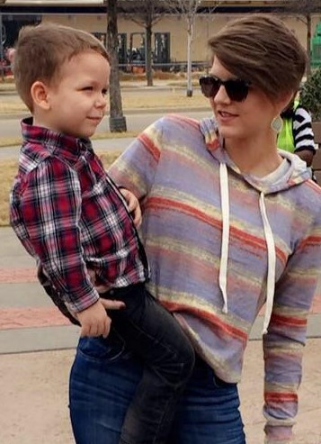 Stetson Blackburn and mother Shannon Gray