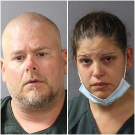 Scott Schollenberger and Kimbery Maurer mugshots