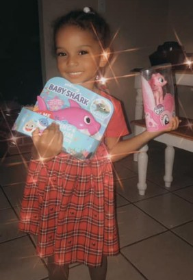 Erykah Taylor third birthday