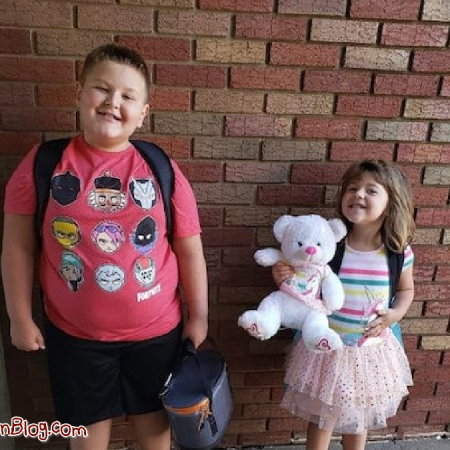 Conner and Brinley Snyder on Suffer the Little Children Blog